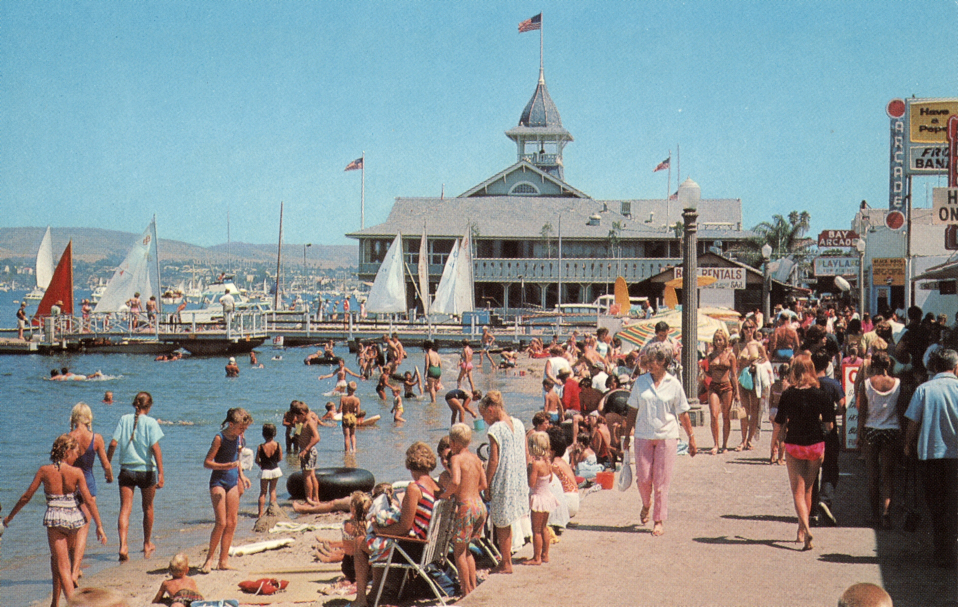 Balboa Fun Zone and balboa Pavillion