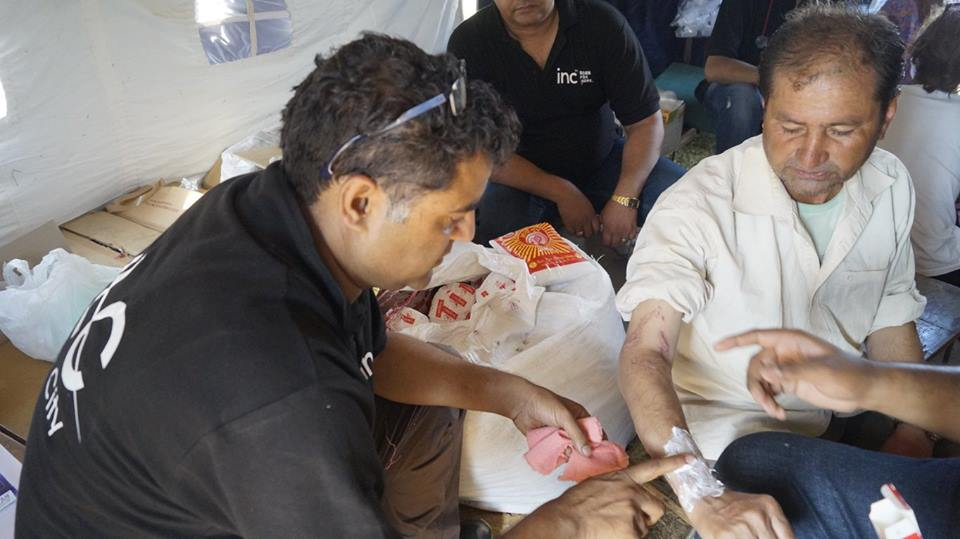 Providing Medical Aid