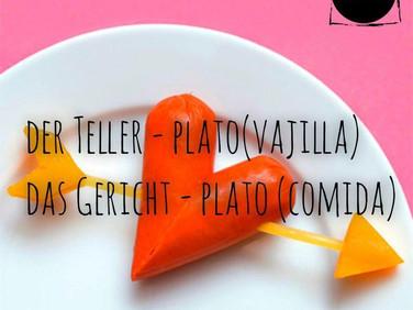 Teller y Gericht: plato