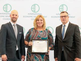 REDC Receives Excellence in Economic Development Award from the International Economic Development C