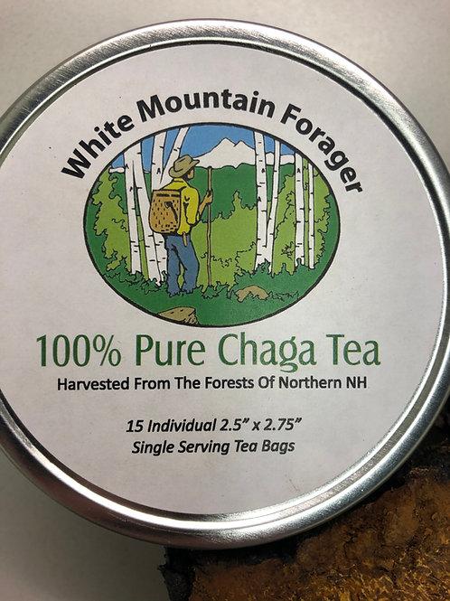 Chaga Tea 15 Tea bags per Canister