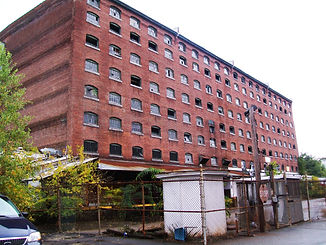 Mill Building that was a Brownfields site.