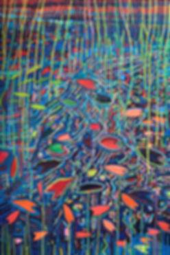 PR Tarbell_Marsh Kaleidoscope #4_oil on