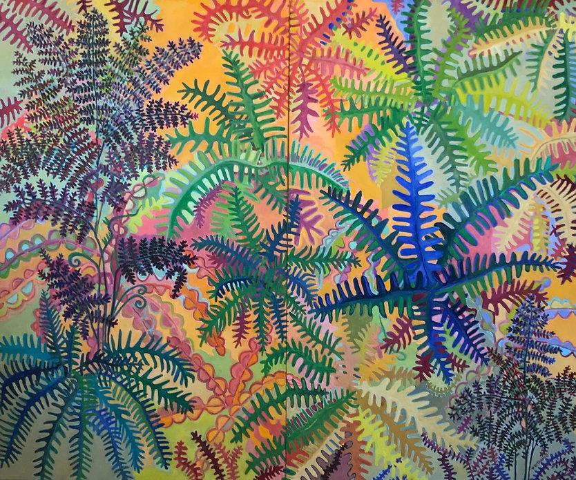 PR Tarbell_Fernland_oil on canvas_5 x 6
