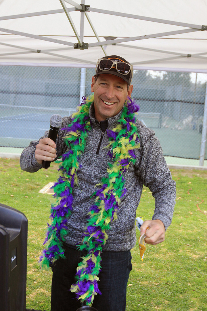 MARDI GRAS ANNOUNCER