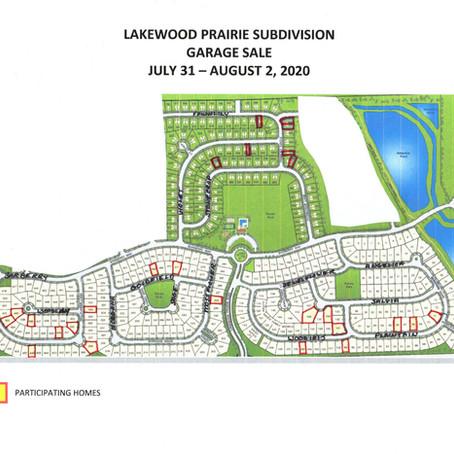 Lakewood Prairie Neighborhood Garage Sale