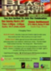 Black History Month Flyer 2017 - Revised