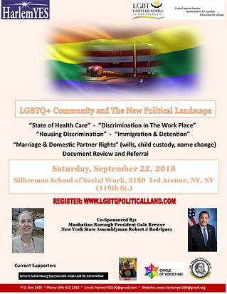 LGBTQ Community Symposium - 2018 - Flyer