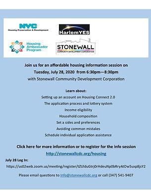 HarlemYES-Stonewall Housing Initiative.j