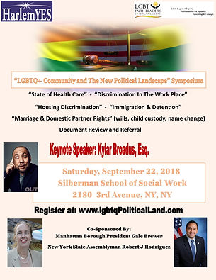 LGBTQ Community Symposium - 2018 - Hold