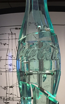 CocaCola 100Y bottle