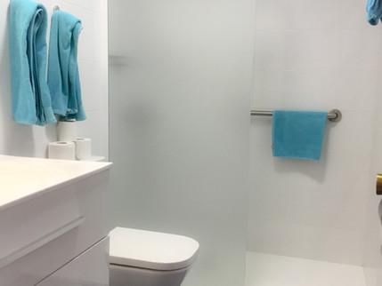 new bathroom 107, 108