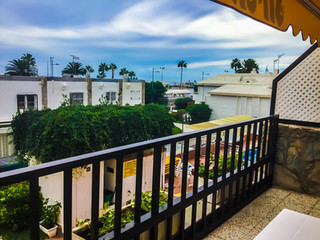 VIEW FROM BALCONY SECOND FLOOR
