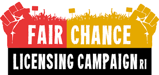 """Sign on to our Campaign! """"Fairchance"""" Licensing for all RI citizens who are willing to work for it!"""