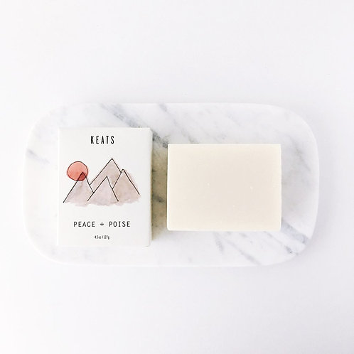 KEATS Handcrafted Soap (Peace+Poise)