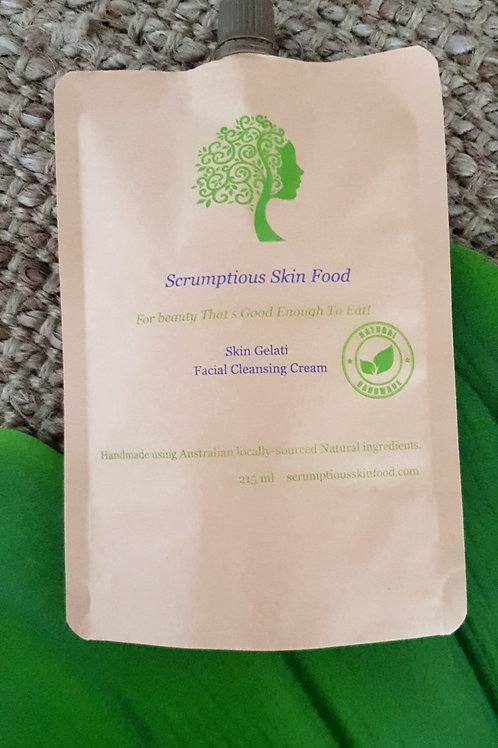 Skin Gelati Facial Cleansing Cream Chamomile, Lavender & Geranium Sensitive Skin