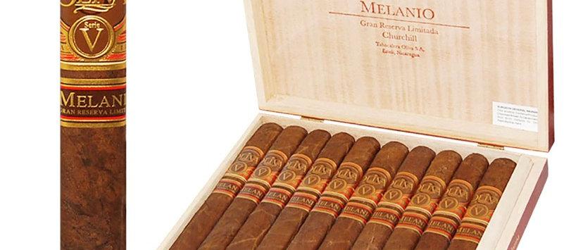 Oliva, (Serie V) Melanio Maduro, Churchill, (7 x 50), 10 per box