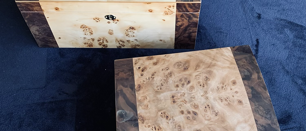 (Imperfect) Humidors - Quote Lot of 2, 30 - 125 ct