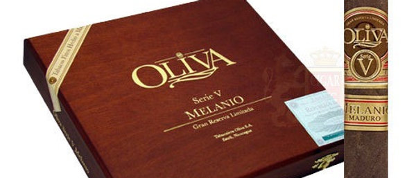 Oliva, (Serie V) Melanio Maduro, Robusto, (5 x 52), 10 per box