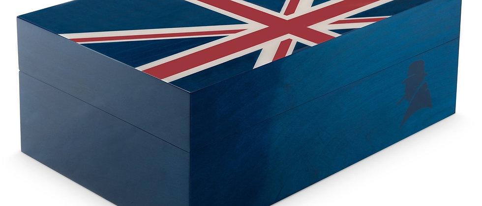(New) Davidoff Ambassador Humidor - Winston Churchill Union Jack