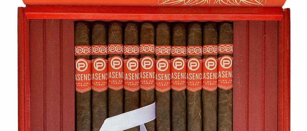Plasencia Alma Del Fuego Panatela, Box of 10 + Ashtray