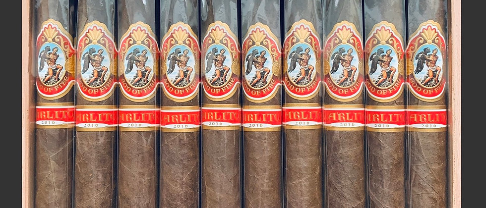 God of Fire by Carlito Double Robusto QTY: 5
