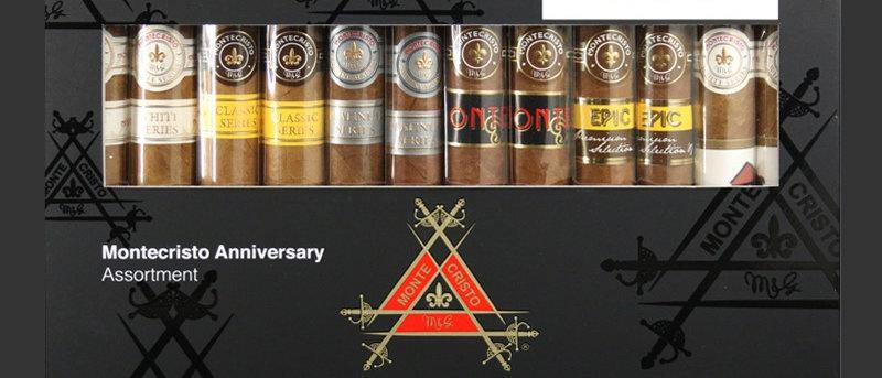 Montecristo, Anniversary Assortment Samper Includes 2 each