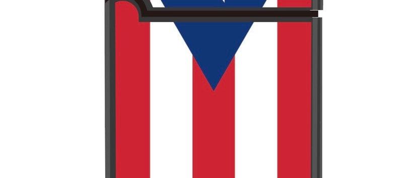 Puerto Rican Flag Butane Lighter