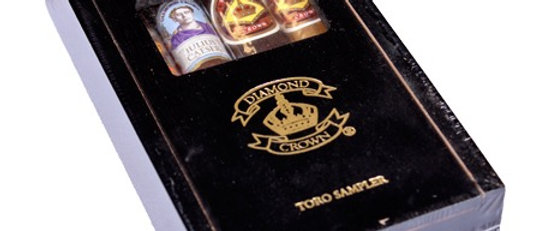 Diamond Crown, Family Collection Toro Sampler (4)