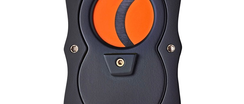 New - Colibri Straight Cutter Black/Orange