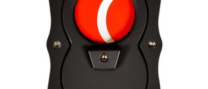 New - Colibri Straight Cutter Black/Red