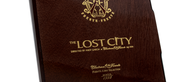 Lot of 3 Empty Boxes - Lost City (Toro, Robusto and Pyramid)