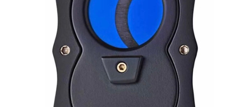 New - Colibri Straight Cutter Black/Blue