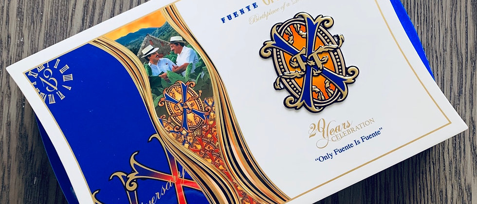 Empty Box of AF Opus X 20th Anniversary Father and Son