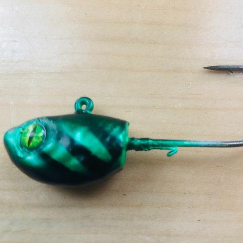 Sinister Green Dragon Jig head - Sinister Series