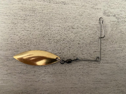 Gold Willow Jig Spin - Size 3