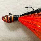 Sinister Orange  Bucktail - Sinister Series