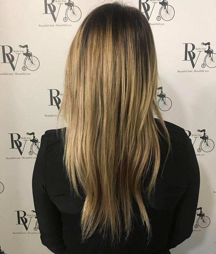 Micro Weft And Vida Hair Extensions Lower Hutt Bella Vita