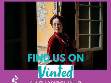 Find us on Vinted!