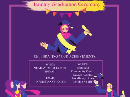 Graduation Ceremony - celebrating your success