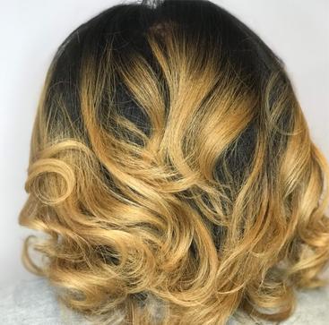 Hair Coloring and Silk Press