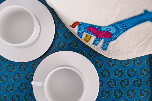 ShweShwe Print Tea Tray