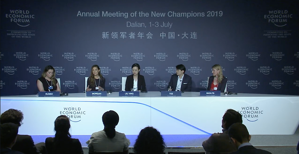 WEF Young Scientists Press Conference 20