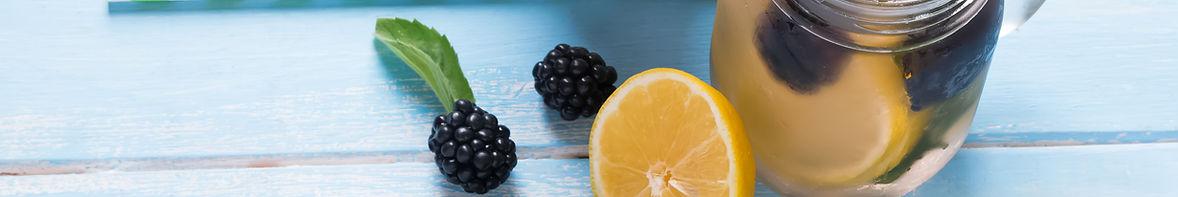Blackberry e limone Detox