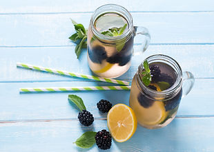 Blackberry und Lemon Detox