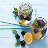 Detox Blackberry et citron