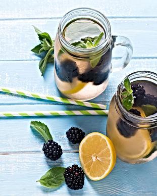 Detox Blackberry et citron - AloeVea Passion