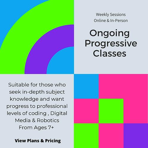 Progressive Pathway Program- Year round classes