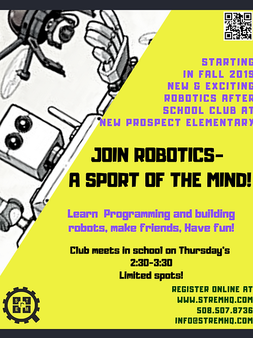 After School Robotics Club at New Prospect Elementary