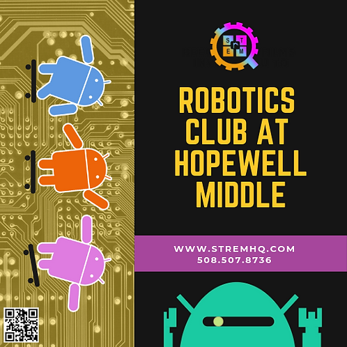 Robotics Club at Hopewell Middle School
